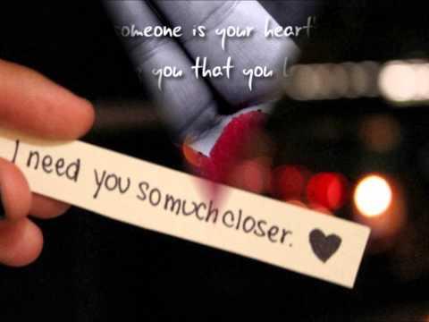 Kris Allen To Make You Feel My Love