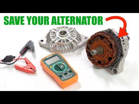 Can A Dead Battery Ruin Your Car's Alternator?