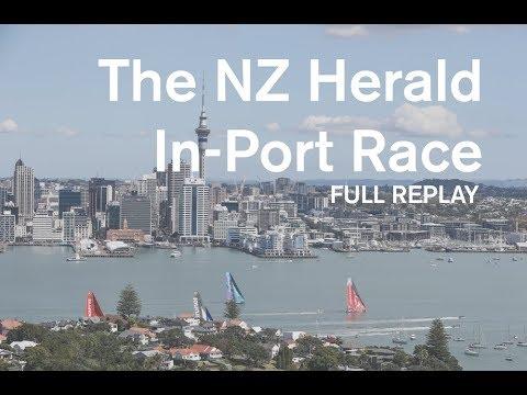 The New Zealand Herald In-Port Race: FULL REPLAY | Volvo Ocean Race