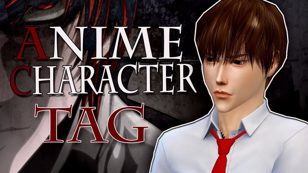 Sims 4 Anime Characters Mod : The sims create a sim anime character tag youtube
