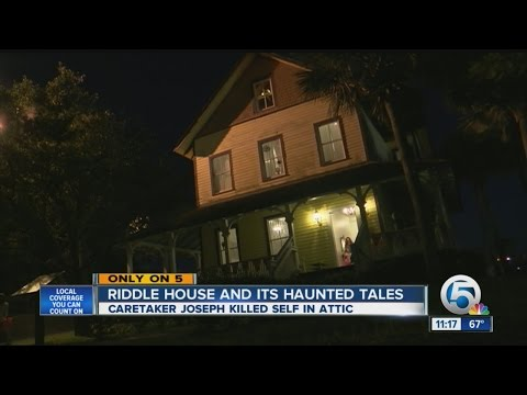 Riddle House and its haunted tales