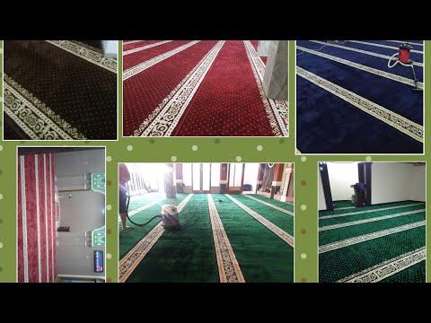 Pemasangan Karpet Masjid Turki Royal Tabriz dan Blue Mosque Daerah Tangerang || 081310841727