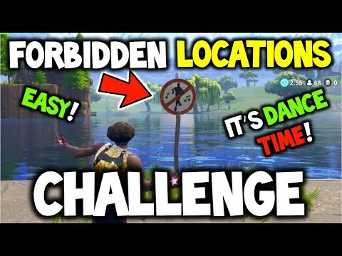 FORTNITE - 'Dance in Different Forbidden Locations' EASY GUIDE! + ALL LOCATIONS! CHALLENGE WEEK 2!