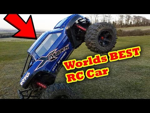 Worlds BEST RC Car EPIC Bash  Traxxas XMaxx 20