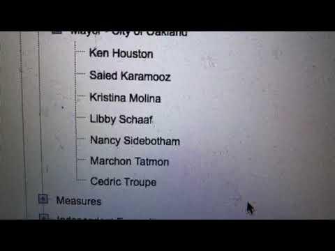 Oakland Mayoral Race: Six Candidates vs Mayor Libby Schaaf Now
