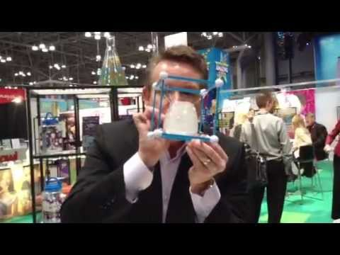 Toy Fair 2013 Be Amazing's Epic Bubbles with Steve Spangler ...