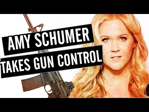 Why Amy Schumer Is Going After Gun Control