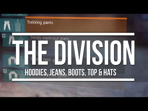The Division - A Look At Hoodies, Hats, Jeans, Tops, Scarfs & Boots