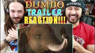 DUMBO Official TRAILER REACTION!!!