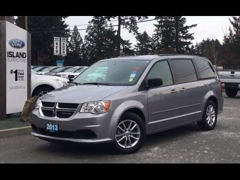 2013 dodge grand caravan sxt stow n go seating review island ford youtube. Black Bedroom Furniture Sets. Home Design Ideas