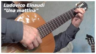 Una mattina, guitar cover