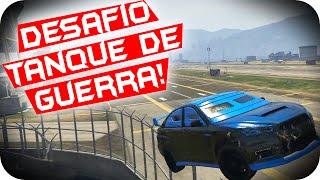 GTA 5 PC Online - DESAFIO DO TANQUE DE GUERRA!