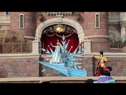Golden Fairy Tale Fanfare - Shanghai Disneyland- Shanghai Disney Resort