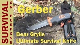 Gerber Bear Grylls Ultimate Survival Knife Review
