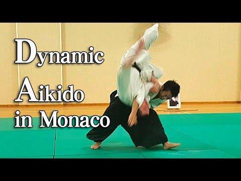 ダイナミックで美しい合気道 Dynamic Aikido in Monaco