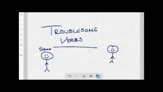 Troublesome Verbs Project Video