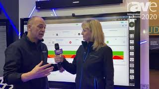 ISE 2020: Angela Interviews Avocor's EMEA VP Glenn Wastyn About UC Central