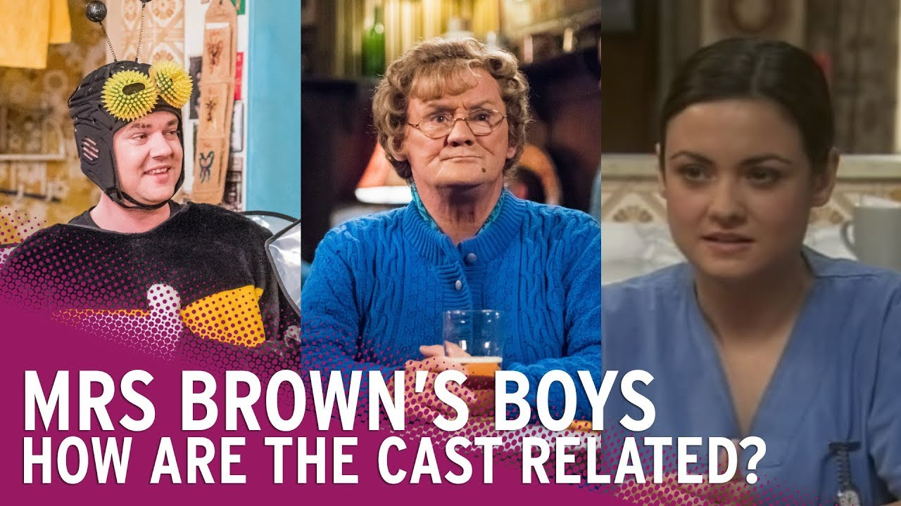 5d54a5b9f610 How is the Cast of Mrs Brown s Boys Related  - YouTube
