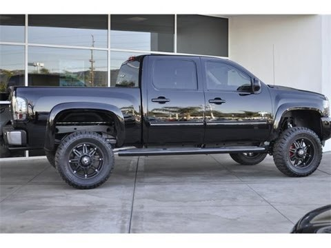 2013 chevrolet silverado 1500 crew cab black widow by southern comfort for sale youtube. Black Bedroom Furniture Sets. Home Design Ideas