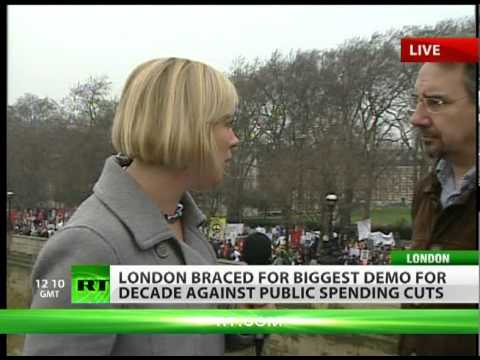Out in Force: 300,000 to march in London anti-cuts protest