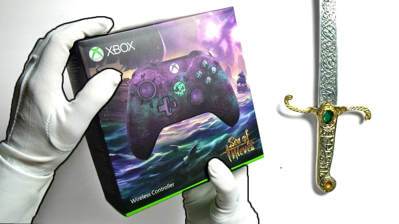 sea of thieves limited edition controller