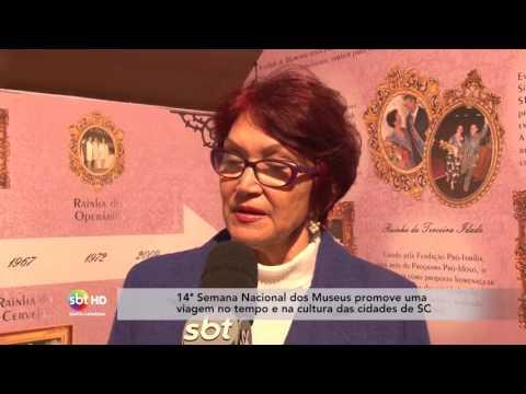 14ª Semana Nacional dos Museus promove uma viagem no tempo e na cultura das cidades de SC