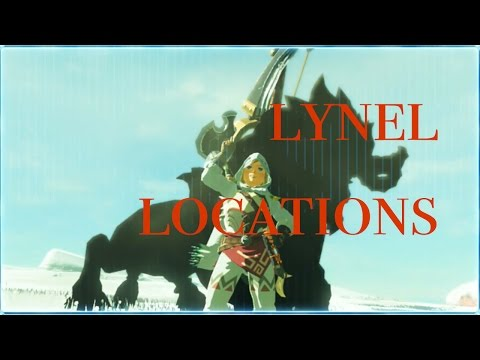 Breath of the Wild - Silver Lynel Map Locations (1,200 sub special!)
