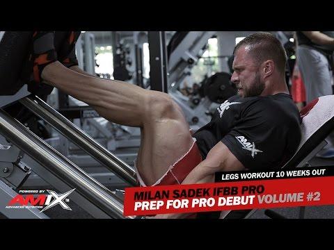 Milan Sadek IFBB Pro (Amix Team): Prep for Pro Debut Volume #2