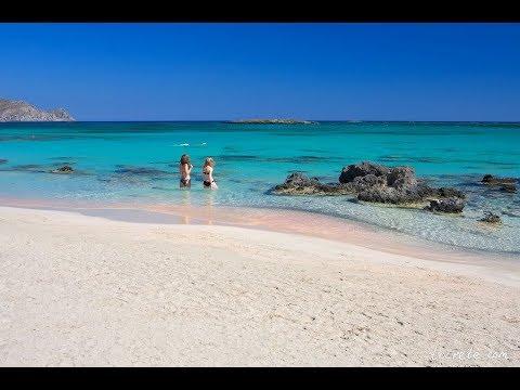 Нереально Красиво. Дорога в Элафониси. Пляж Элафониси. Розовый песок. Релакс.