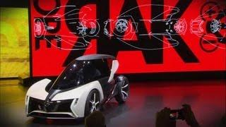 Elektroautos auf der IAA Frankfurt