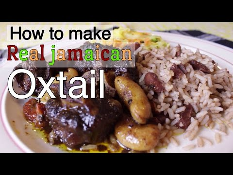 How To Make Real Jamaican Oxtail |Hello Sweet Biscuit