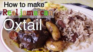 How To Make Real Jamaican Oxtail Hello Sweet Biscuit