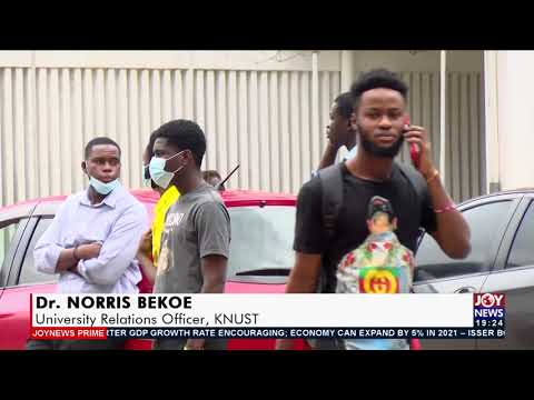Security on KNUST Campus - Joy News Prime (17-9-21)