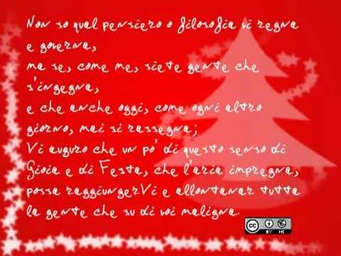 Testo Canzone Auguri Di Buon Natale.Testo Aria Di Natale