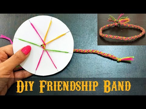 How to make friendship band at home | DIY Friendship Bracelets