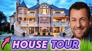 Adam Sandler | House Tour 2020 | LA and Malibu MEGA Mansions
