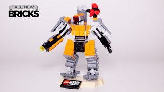Lego Blizzard Overwatch 75987 Omnic Bastion Speed Build