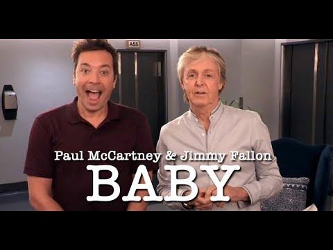 'Baby' - Paul McCartney and Jimmy Fallon