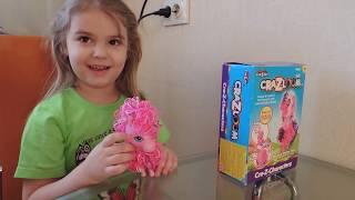 Vlog cra-z-loom набор для плетения животных из резиночек, пинки пай и ксюша
