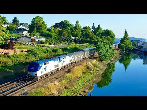 PREVIEW: Coast Starlight Train (2-2-18)