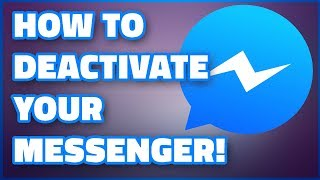 How to deactivate Facebook Messenger || New video |