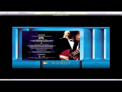 AC/DC The Complete Collection iTunes LP Showcase