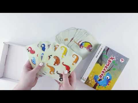 Dodo R300200 Настольная игра на внимательность Хамелеон