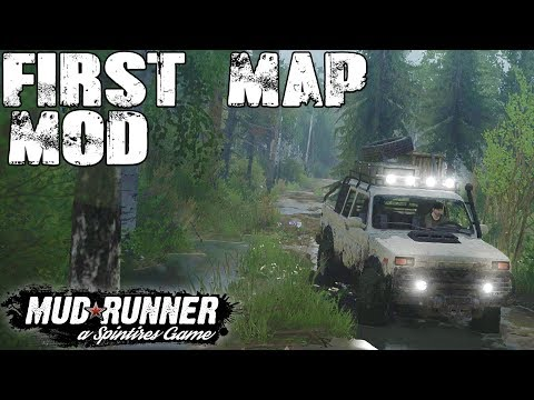 FIRST MOD MAP - Spintires Mud Runner - Lavoro Leggero (with Wheel Cam)