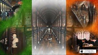#VIAGENS - IRLANDA / TRINITY COLLEGE LIBRARY DUBLIN ( BIBLIOTECA DO HARRY POTTER)