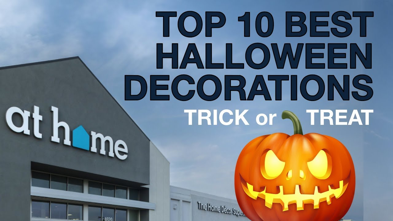 "top 10 best halloween ""new arrival"" decorations from the at home"