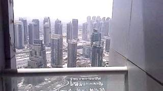 Princess tower dubai marina construction, twisting building