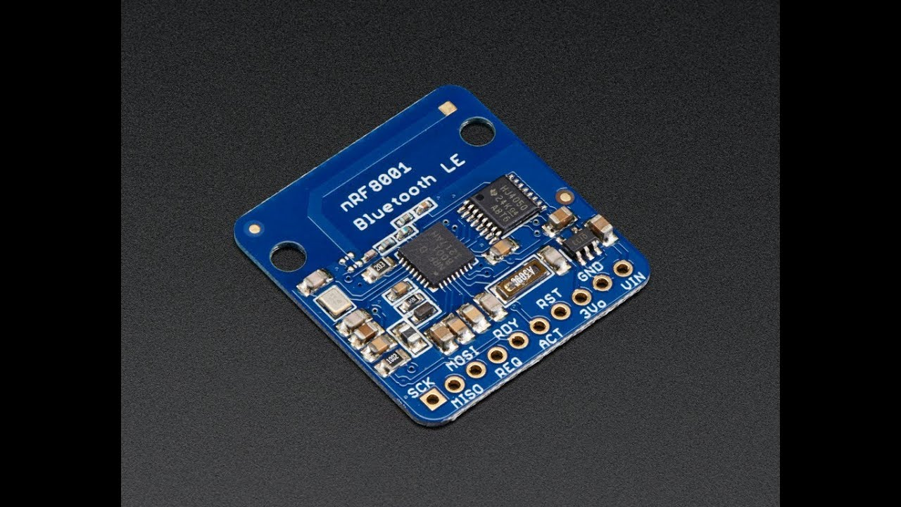 The Adafruit Bluefruit LE (Bluetooth Smart, Bluetooth Low Energy, Bluetooth  4 0) nRF8001
