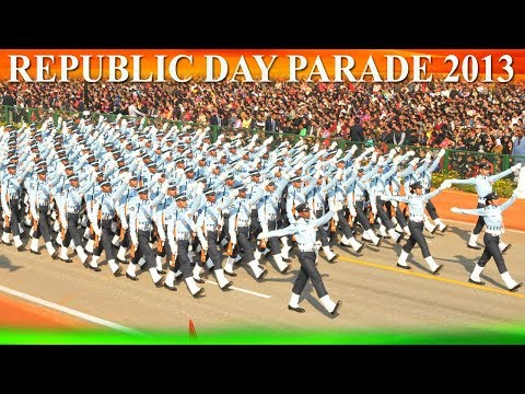 26TH JANUARY, 2013 - 64TH REPUBLIC DAY PARADE - LIVE ON DOORDARSHAN NATIONAL