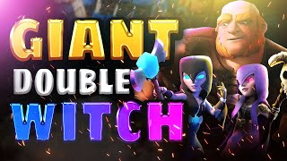 GIANT DOUBLE WITCH IS BROKEN! | Clash Royale Ladder Pushing
